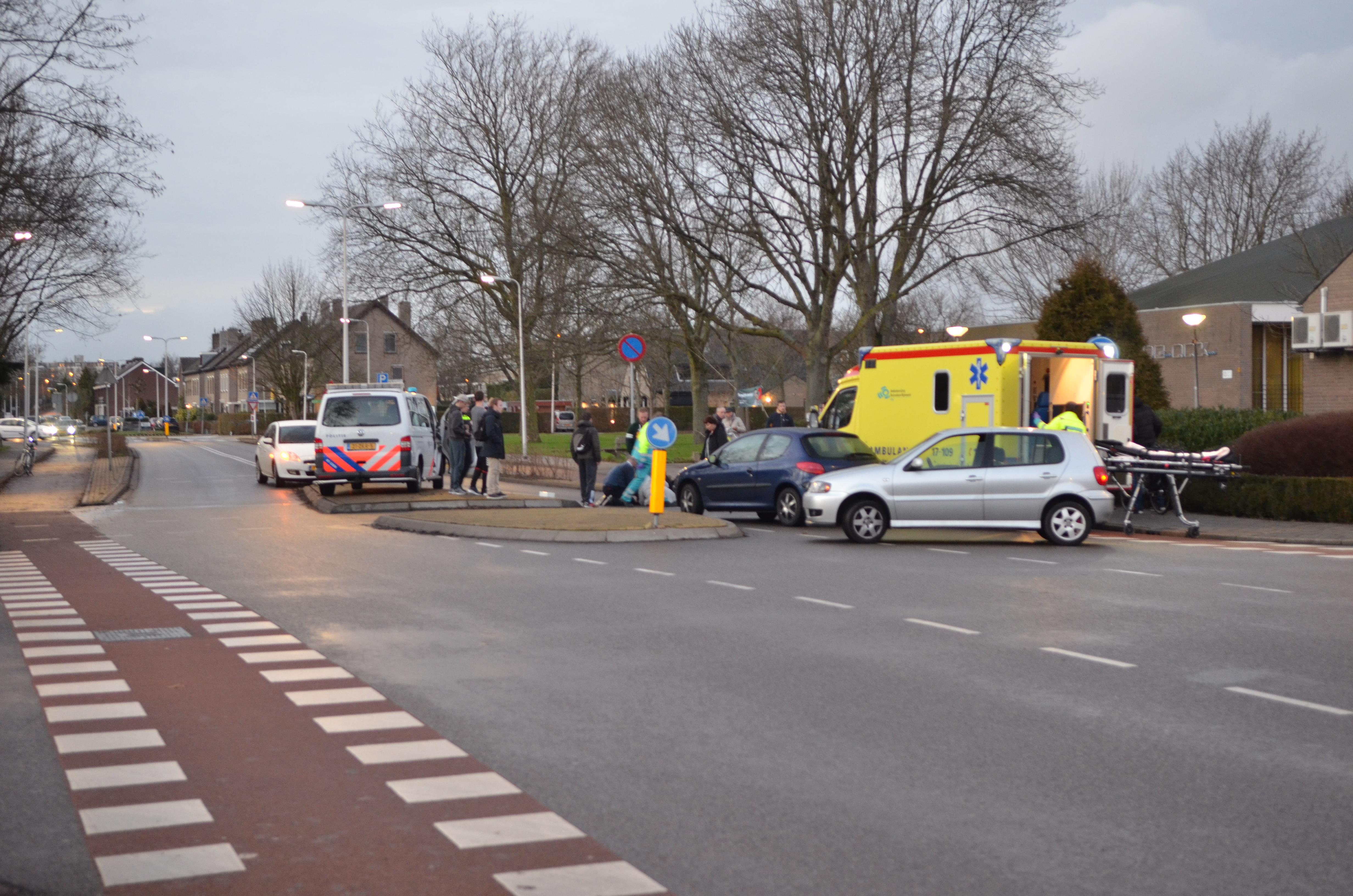 Ongeval op de Burgemeester Aalberslaan