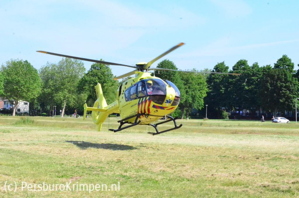VVD: Nauwelijks plekken voor traumahelikopter om te landen