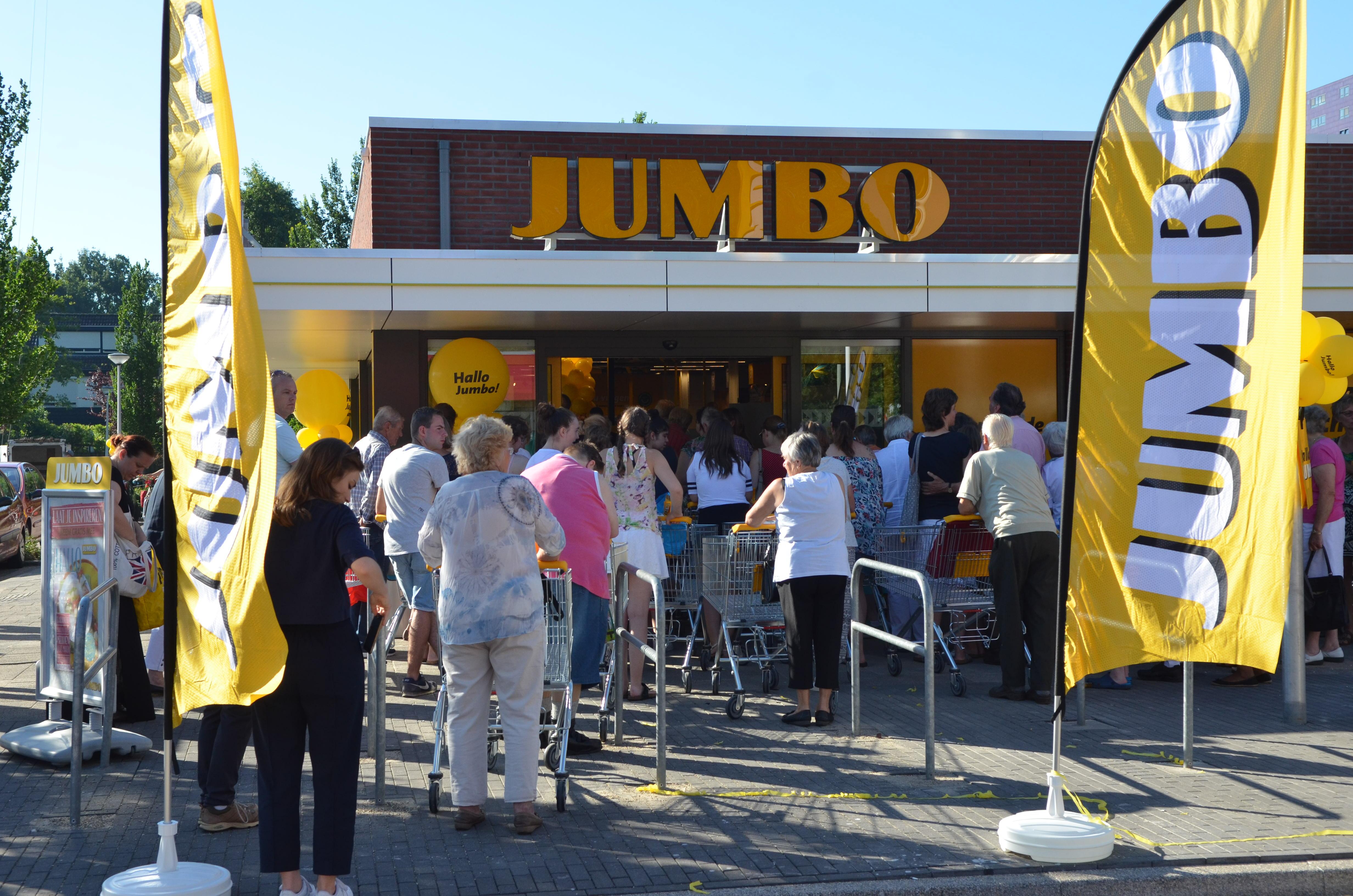 Veel belangstelling voor heropende Jumbo