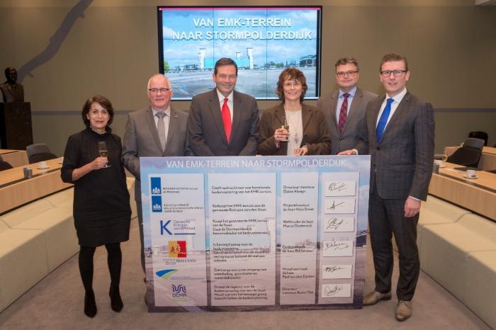 Koopovereenkomst EMK-terrein getekend
