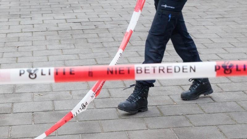 Politie onderzoekt steekincident Burgemeester Aalberslaan