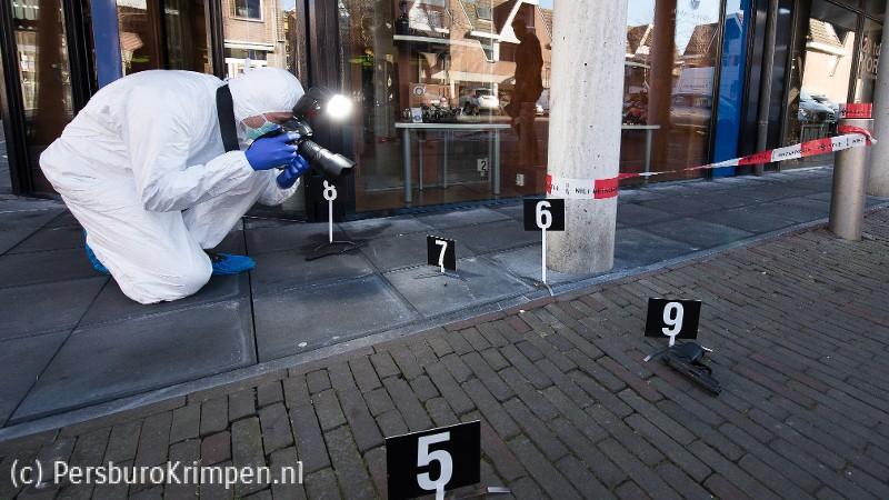 Man beschoten op parkeerplaats Reigerlaan