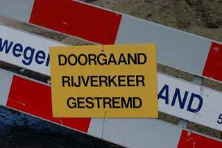 Wegafsluiting IJsseldijk